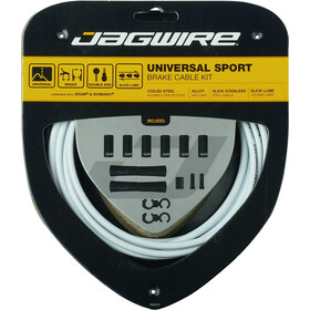 Jagwire Sport Universal Brake Cable Set for Shimano/SRAM grey